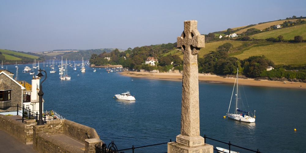 War memorial near Salcombe