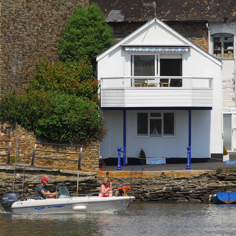 Photo of boat passing by the Boathouse